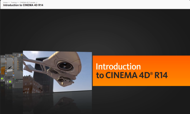 My first Training Cinema 4D