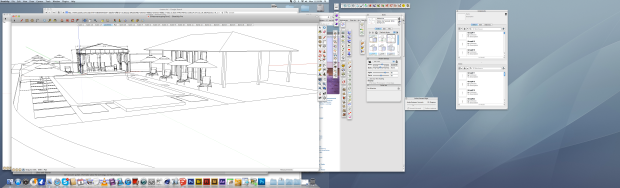 Sketchup in use