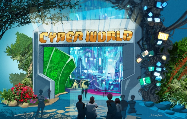 CyberWorld Entrance