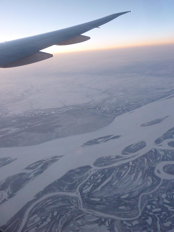 Over Siberia