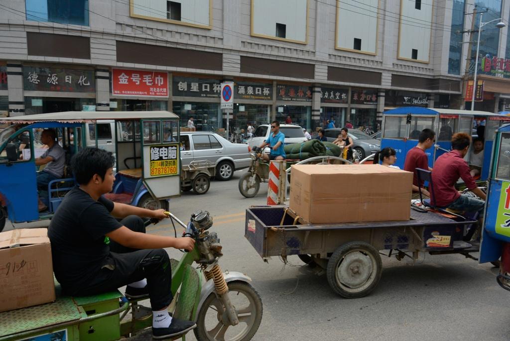 Streets of Shijiazhuang